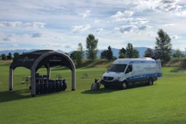 Cool Clubs Mobile Tour Van Update